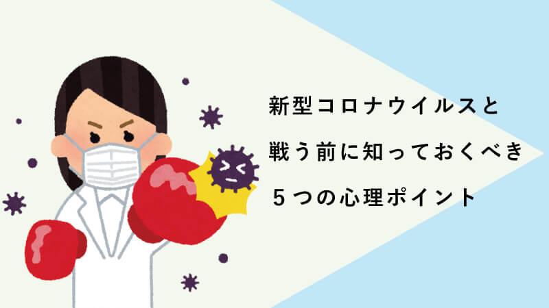 新型コロナウイルスと戦う